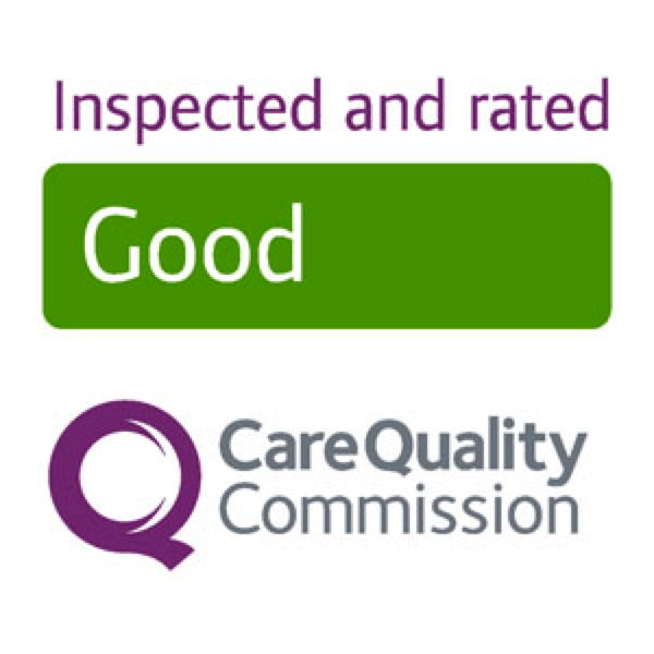 Inspected and rated Good by Care Quality commission