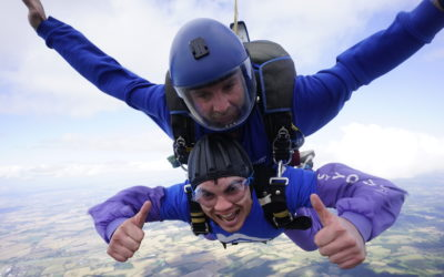 Devine Daredevils take to the skies