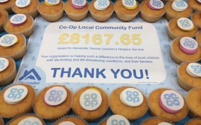 Coop shoppers raise over £8k