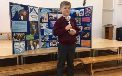 Windsor School presents Alexander Devine Outstanding Kindness award