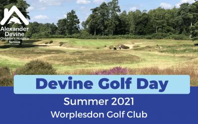 Devine Golf Day, Summer 2021