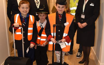 Volunteer organises a special 'Aeroplane Day'