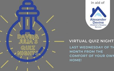 David and Julia's Quiz Nights! The Last Wednesday of the Month
