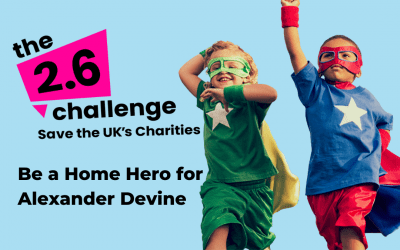 Take on the nation's 2.6 Challenge for Alexander Devine