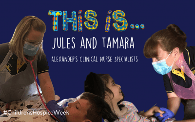Meet #TeamDevine: Jules and Tamara, Alexander's Clinical Nurse Specialists