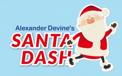 Alexander Devine's Santa Dash, 28 November