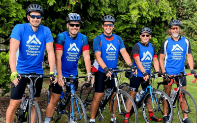 Friends' 100 mile cycle ride raises £3,800