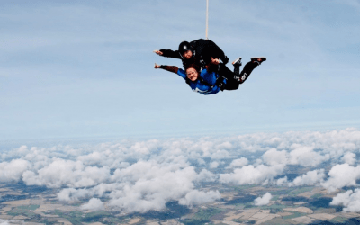 Daring Daredevils complete skydive