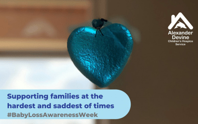 Alexander Devine supports Baby Loss Awareness Week