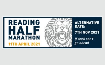 Reading Half Marathon, 11 April 2021