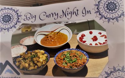 Curry night cooks up much-needed funds