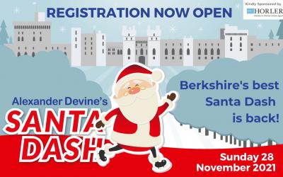 Alexander Devine's Santa Dash, 28th November