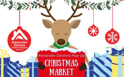 Alexander Devine's Pop-Up Christmas Market, 20th – 21st November 2021